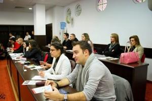 Борис Колев и Десислава Тодорова от екипа на CSR Bulgaria