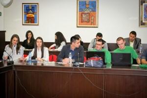 Представители на екипите по проектите